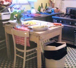 Italian farm kitchen, Raggiolione, Italy. Teaching cooking classes abroad