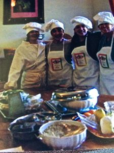 My wonderful students from NYC on a cooking reatreat in Italy
